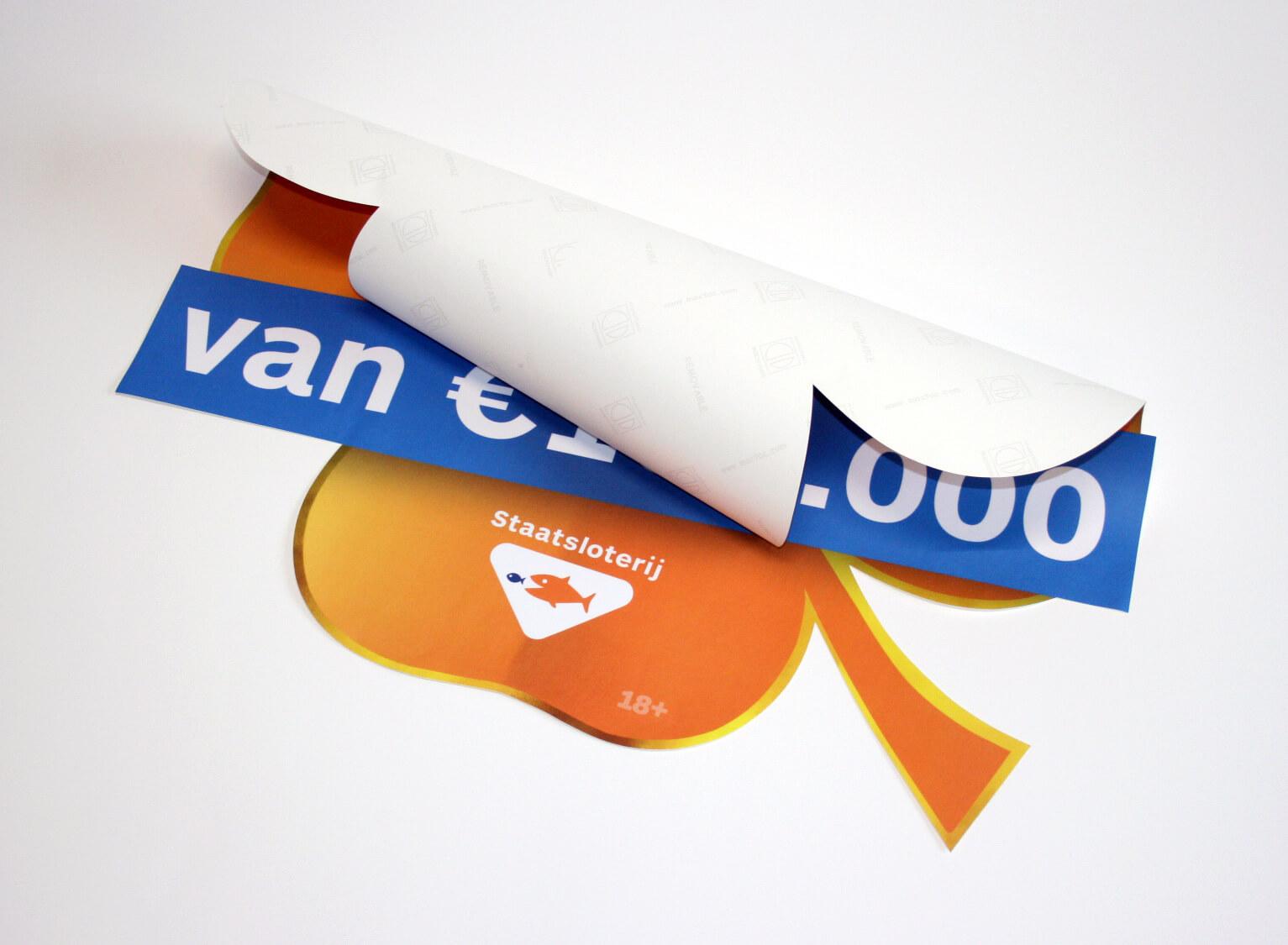 Vloerstickers anti slip laminaat