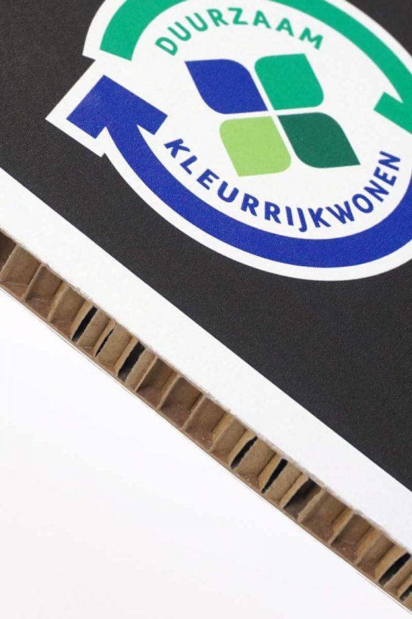 honingraatkarton printen display stevig karton