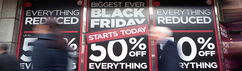 Black Friday Promotiemateriaal