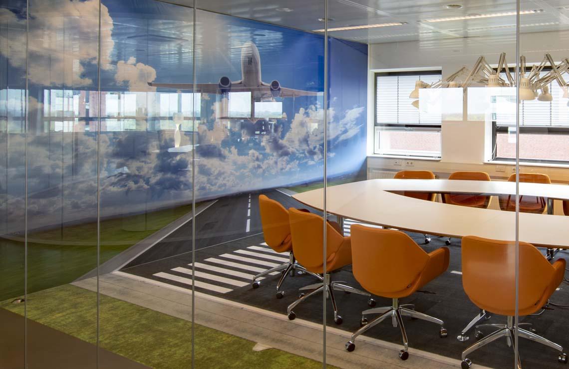airtex wandbekleding kantoor
