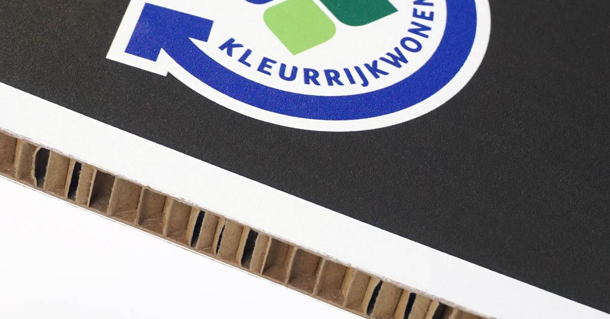 reboard honingraatkarton panelen printen
