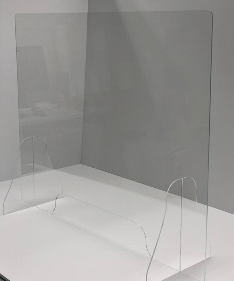 coronascherm-plexiglas-staand